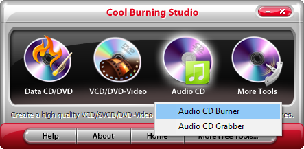 How to Burn Music CD - Activate Audio CD Burner