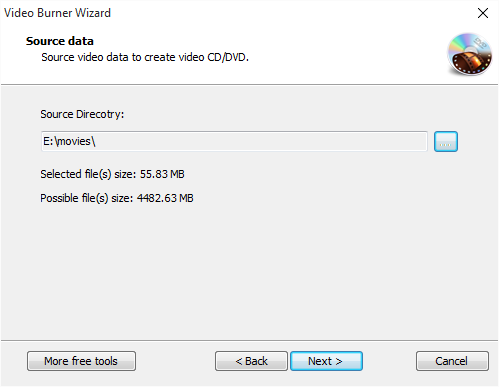 Choose Source Video Data